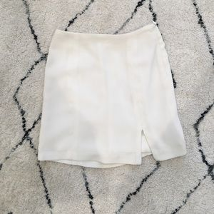 Dresses & Skirts - White silk skirt